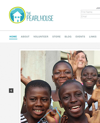The Pearl House website